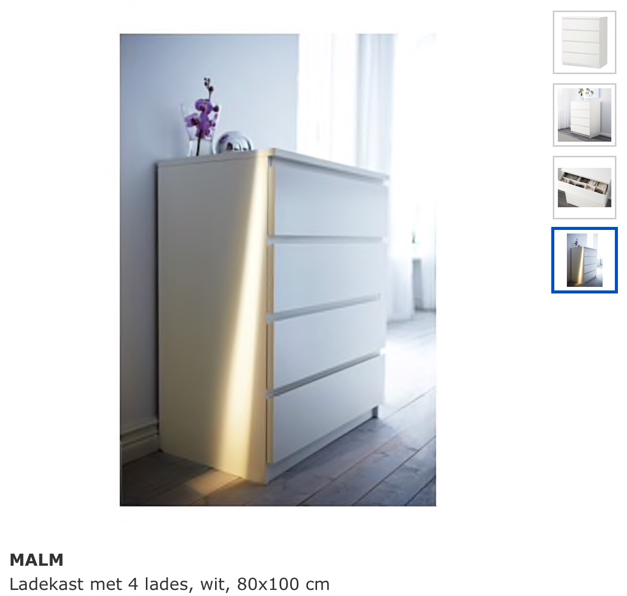 Malm Ladekast Van Ikea.8 Ladekasten Monteren Ikea Malm 4 Lades 80x100cm Werkspot