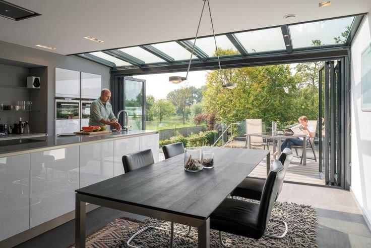architect interieur aanbouw serre ontwerpen werkspot. Black Bedroom Furniture Sets. Home Design Ideas