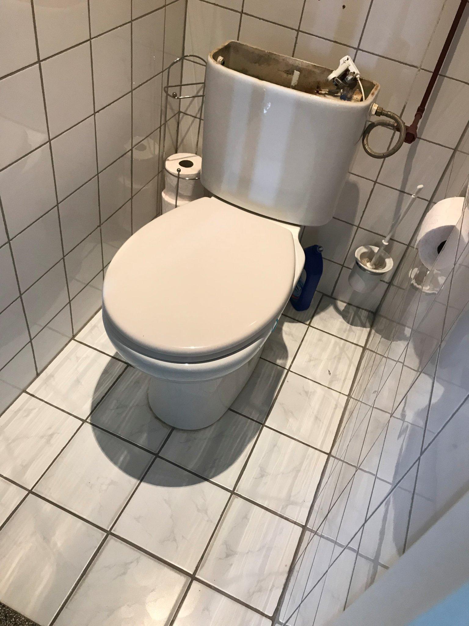 Extreem WC Pot/Stortbak vervangen - Werkspot WP34