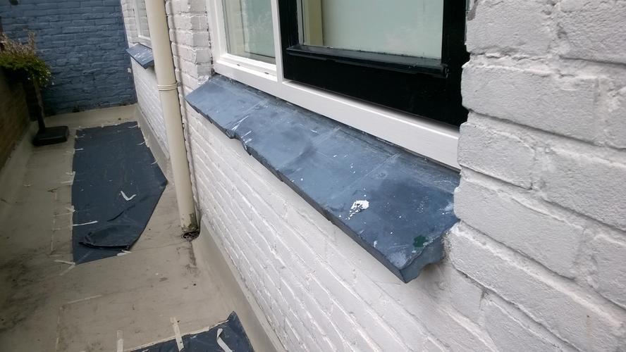 Buiten vensterbanken vervangen werkspot for Vensterbank vervangen