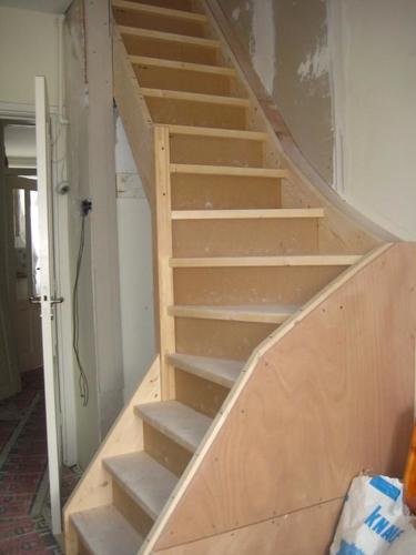 trap naar de zolder maken werkspot