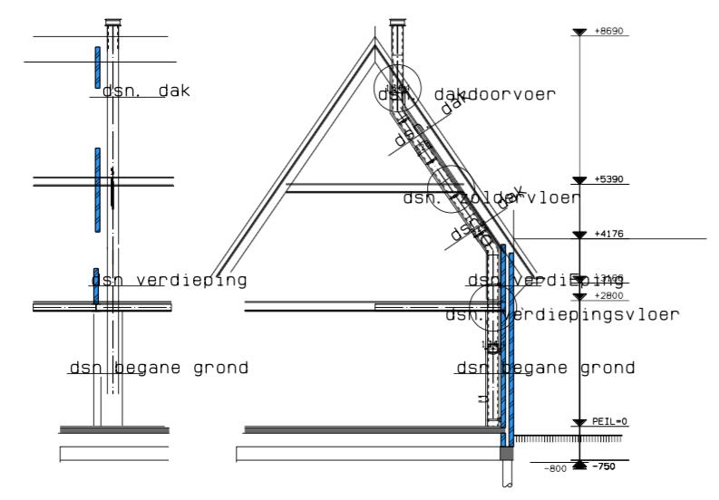 Fonkelnieuw rookkanaal aftimmeren promatect - Werkspot IA-44