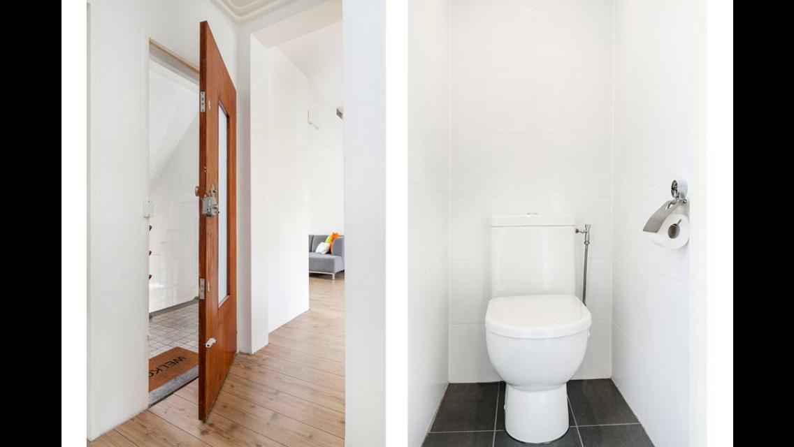 Gedicht Nieuwe Badkamer : Badkamer leidingen infrezen betegelen en tussenwand weghalen