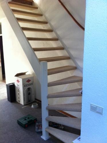 Traprenovatie open trap werkspot for Open trap renovatie