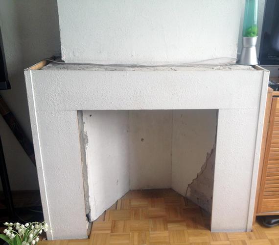Zeer Vrijstaande houtkachel plaatsen + schouw/ombouw/vloer geschikt  &ZS66