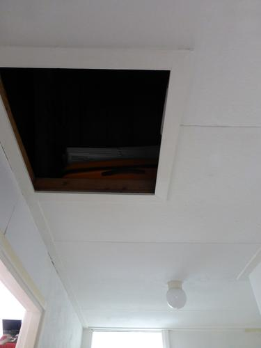 Vervangen zachtboard plafond en inbouwen vlizotrap werkspot for Vlizotrap monteren