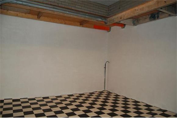 Woonkamer Op Bovenverdieping : Verbouwing geisoleerde garage tot woonkamer stuccen