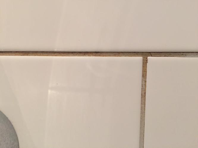 Voegwerk in douche verwijderen en opnieuw voegen - Werkspot