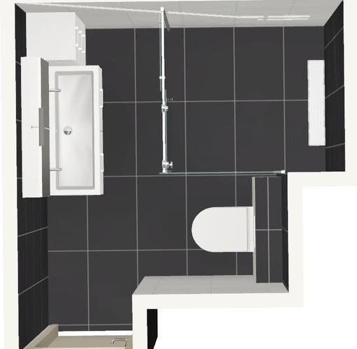 Renovatie kleine badkamer toilet werkspot - Kleine badkamer wc ...