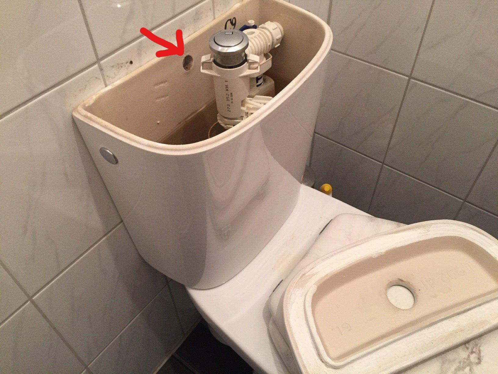 Fabulous WC stortbak vastzetten - Werkspot UH66