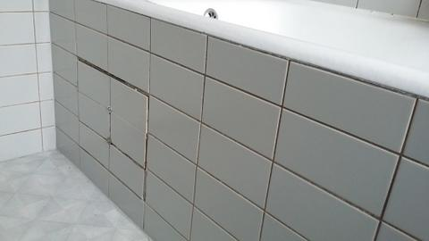 Oorzaak badkamer lekkage verhelpen + schade herstellen - Werkspot