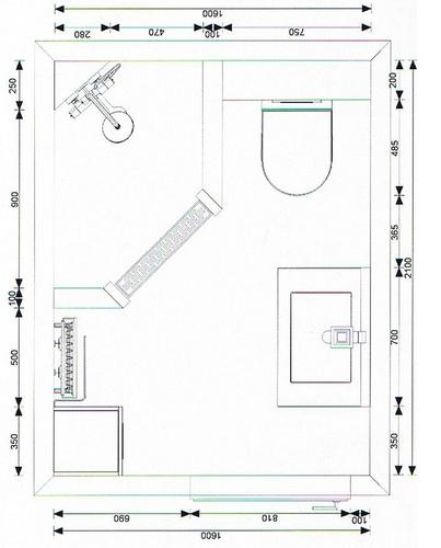 Awesome Badkamer Plattegrond Images - Amazing Ideas 2018 ...
