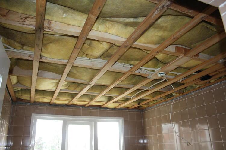 Top Isoleren plafond badkamer 2,60 x 2,90 - Werkspot YF23