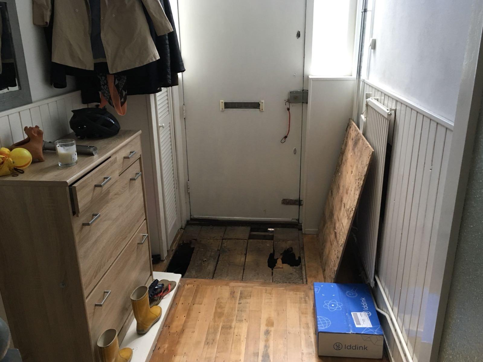 Vervanging hout fundering nieuwe vloer leggen werkspot