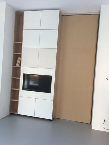 Mdf Kast Schilderen Kast Is 350 Hoog En 3 Meter Breed