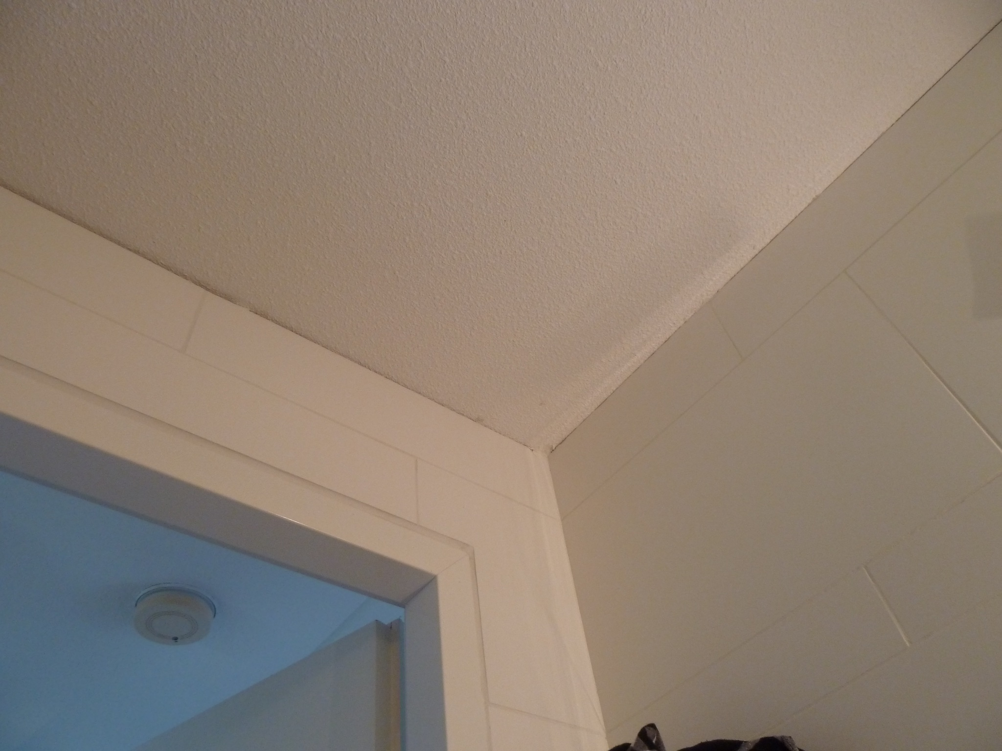 Plafond badkamer witten en kitten - Werkspot