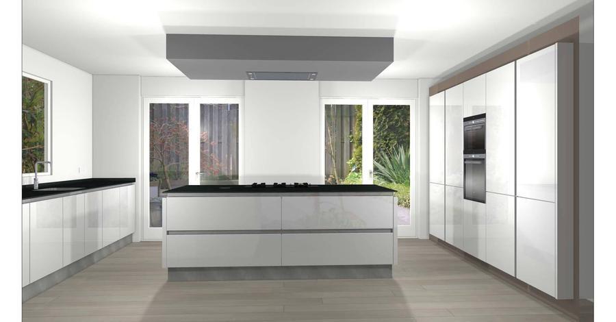 Extreem Verlaagd plafond keuken + koof tv maken - Werkspot @CW76