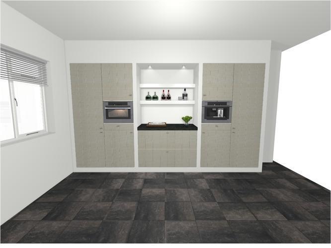 Keuken Ikea Kastenwand : Plaatsen ikea keuken inbouwen hoge kastenwand keuken werkspot