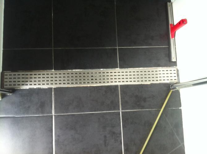kitten afvoer douche - werkspot, Badkamer