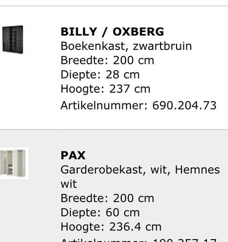 Een Pax Kast En Een Billy Oxberg In Elkaar Zetten Werkspot