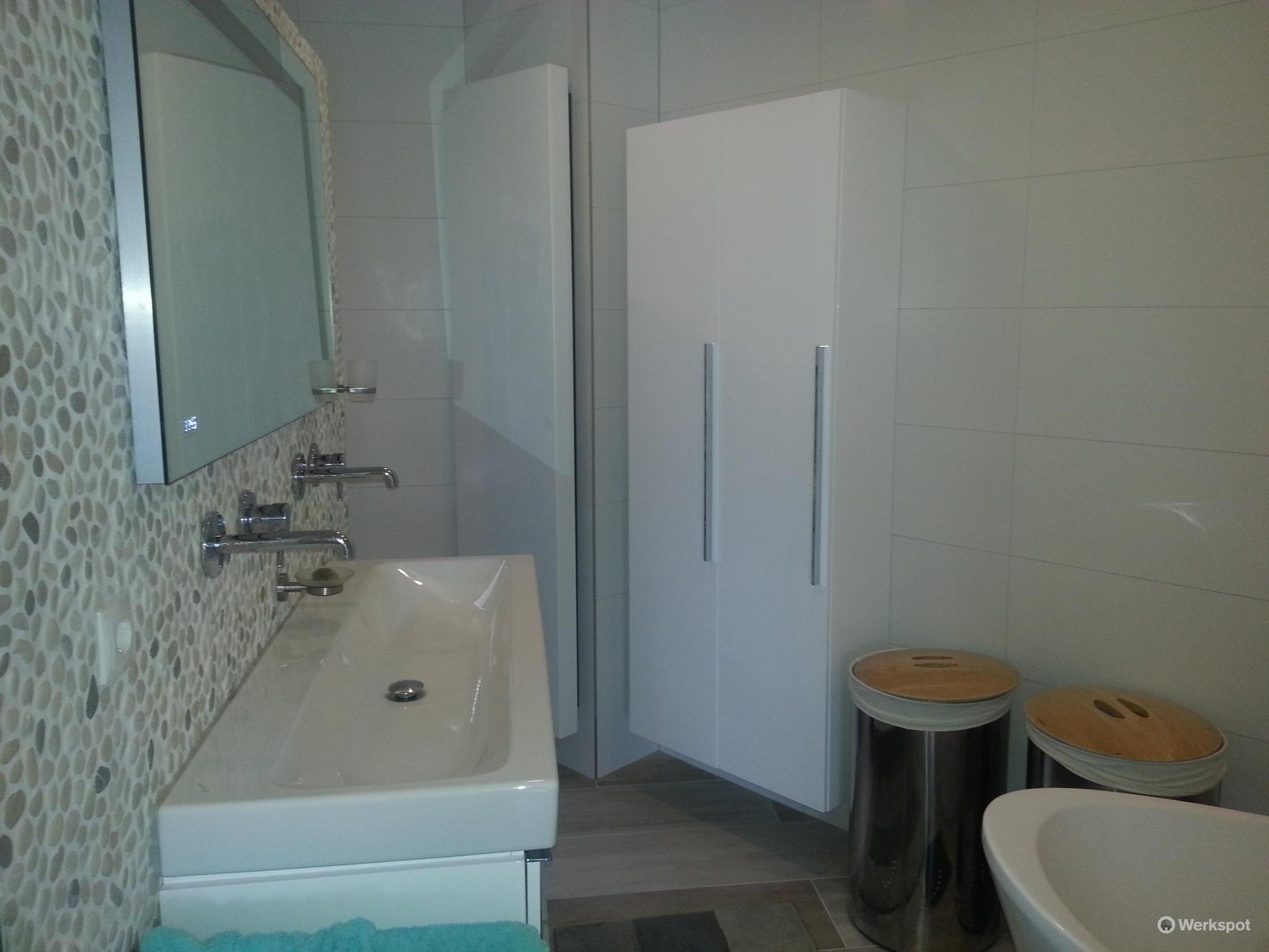 badkamer en toilet worden casco opgeleverd van nieuwbouw - Werkspot