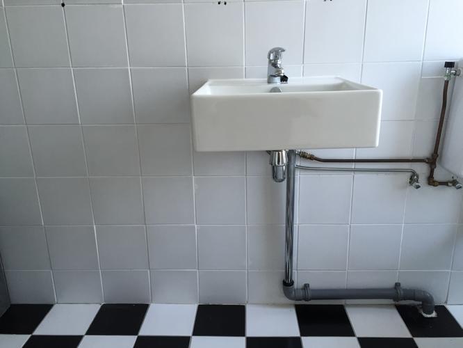 In elkaar zetten ophangen ikea badkamermeubel onder wastafel incl