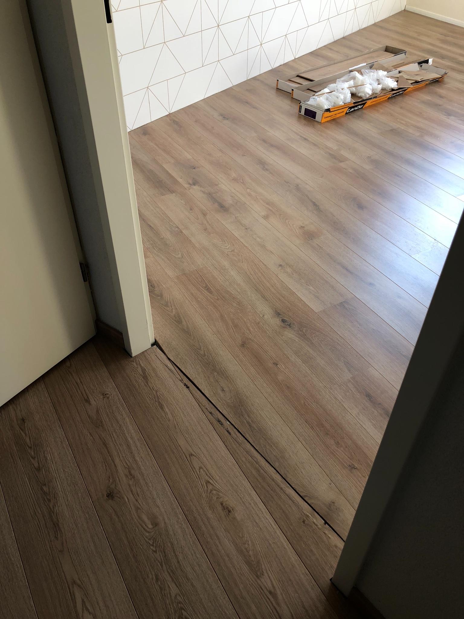 Laminaat leggen (slaapkamer 20m2) - Werkspot