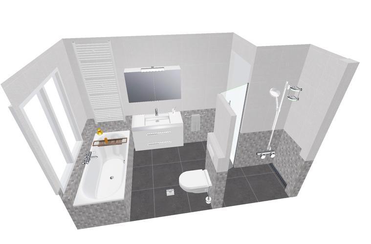 Badkamer verbouwen Haarlem 3,7 x 1,8 meter - Werkspot