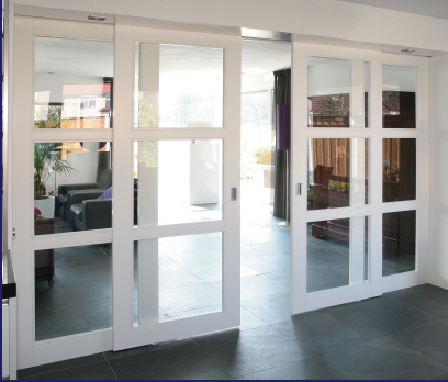 Kamer en suite schuifdeuren plaatsen werkspot for Schuifdeuren woonkamer