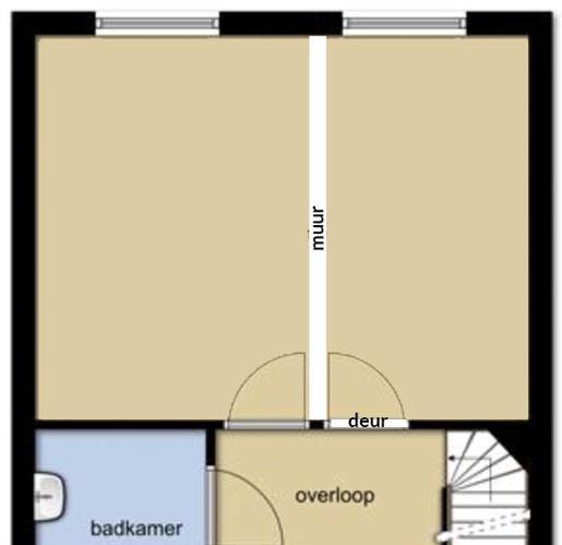 Van 1 kamer, 2 kamers maken | Muur plaatsen incl. afwerking - Werkspot