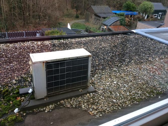 Verwijderen van airconditioning op slaapkamer en unit op plat dak ...