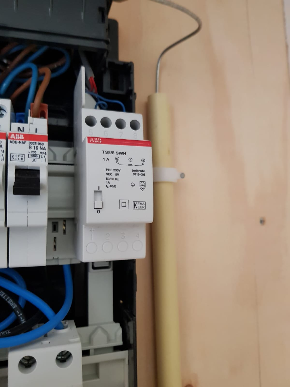 Deurbel Transformator Aansluiten.Ring Pro Deurbel Transformator Aansluiten In Abb Busboard