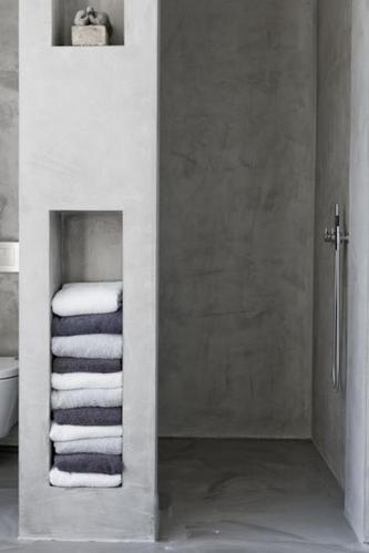 Badkamer wanden Beton Cire - Werkspot