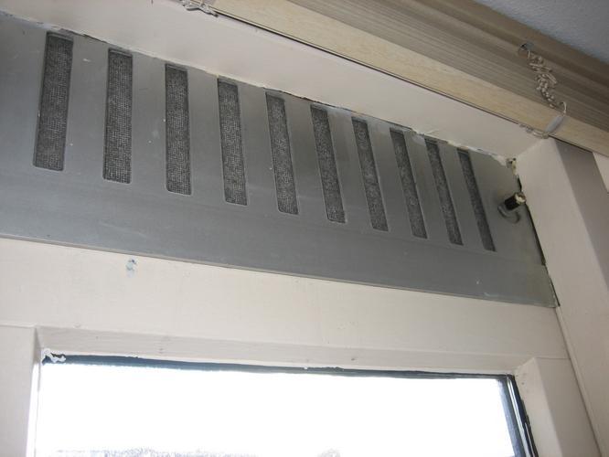 Vaak Ventilatie boven ramen - Werkspot TY45