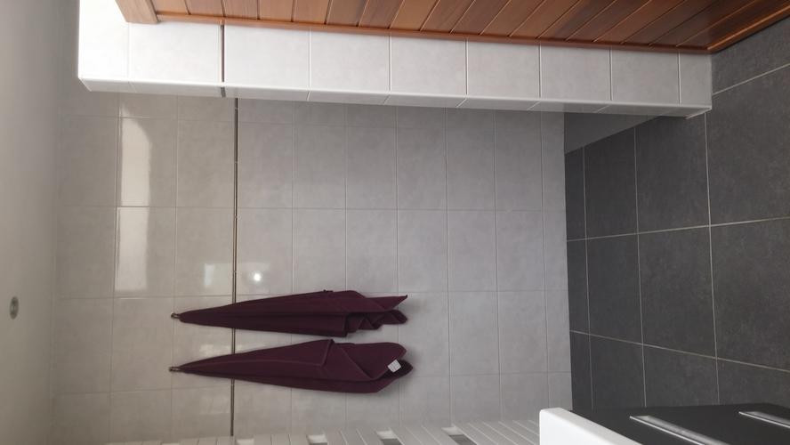 Bad douche combinatie plaatsen en afwerken werkspot