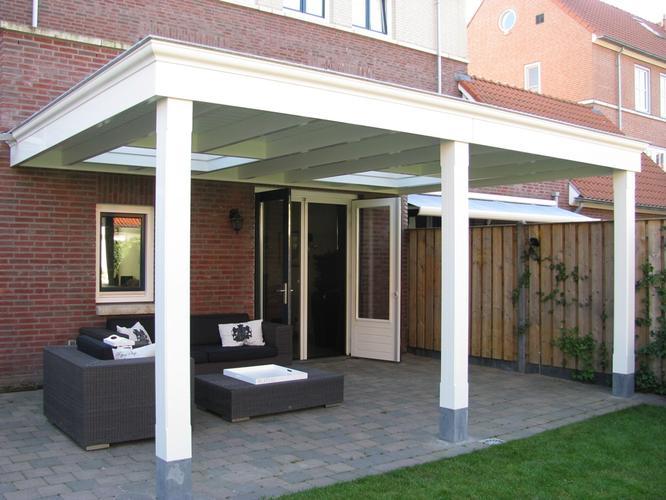 Moderne veranda aan huis werkspot - Veranda modern huis ...