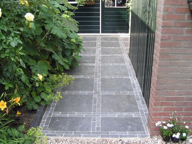 60x60 Tegels Tuin : M tuintegels aanleggen met en waaltjes werkspot