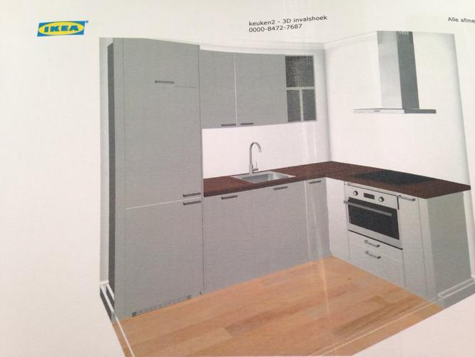 Ikea Keuken Plaatsen 1 75 X 2 60 Meter Werkspot