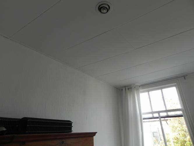 Stucen plafond & 1 wand woonkamer, plafond & twee wanden slaapkamer ...