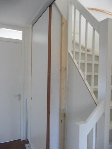 Open trap naar zolder dichtmaken - Werkspot