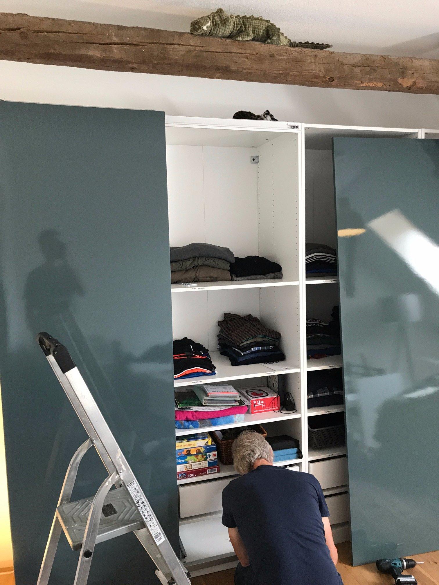 Pax Handleiding Schuifdeuren.Schuifdeuren Monteren Ikea Pax Kast Werkspot