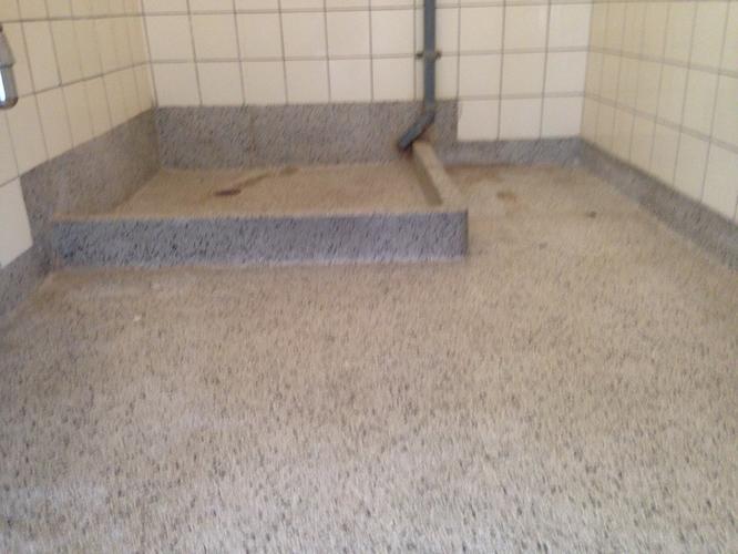 Verwijderen van granieten badkamervloer in den haag werkspot - Badkamer vloer ...