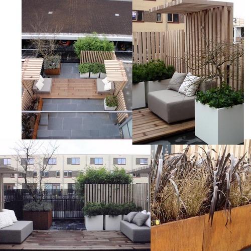 kleine tuin terras aanleggen werkspot