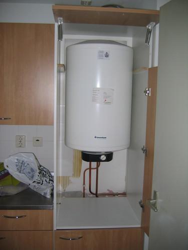 Boiler in de keuken verplaatsen - Werkspot