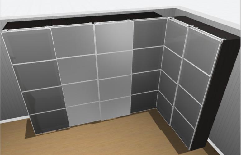 Kast Met Schuifdeuren : Pax kast schuifdeuren afmonteren werkspot