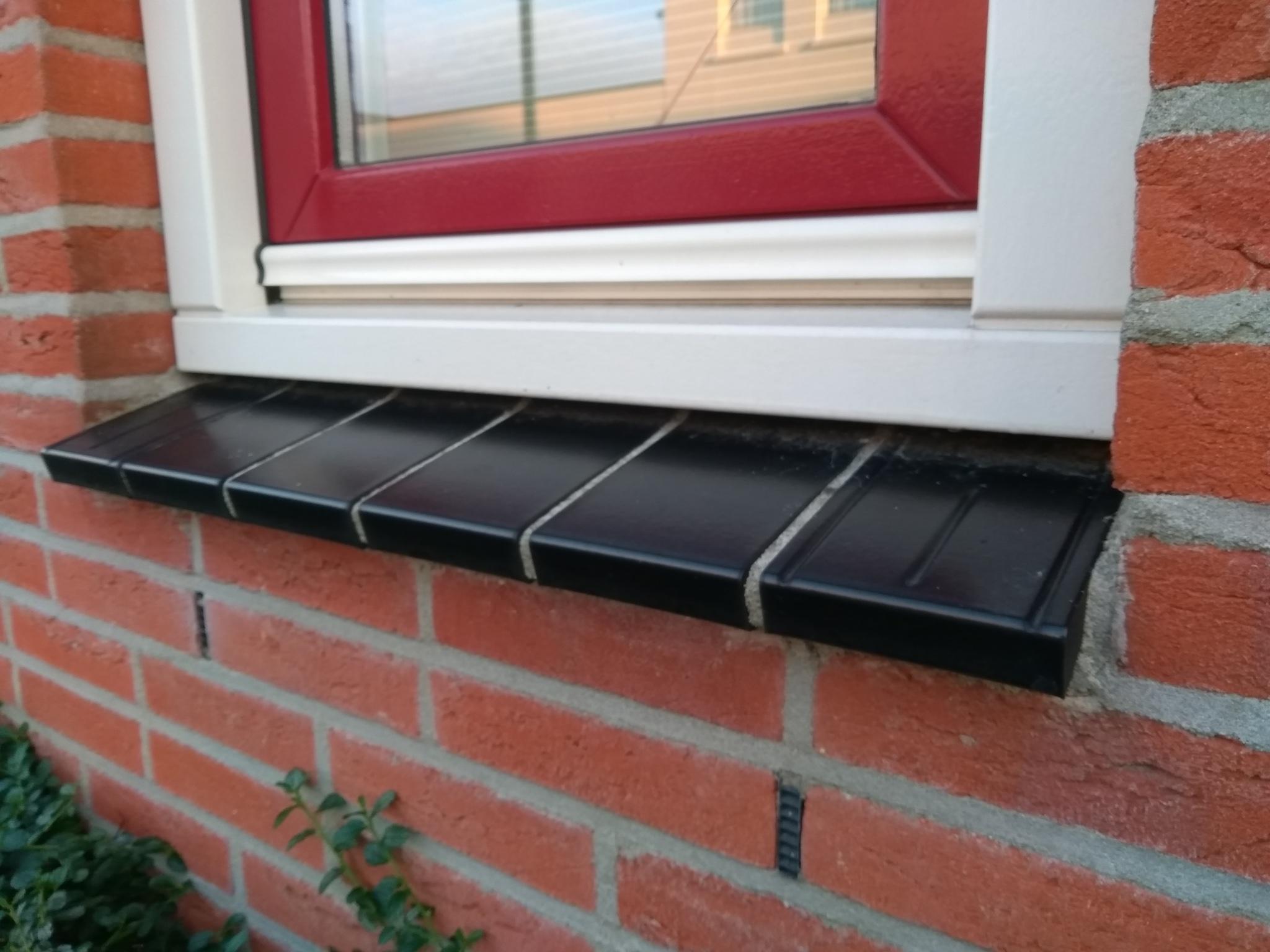 Vensterbank Tegels Buiten : Vensterbank tegels buiten voegen vensterbank werkspot ≥ buiten