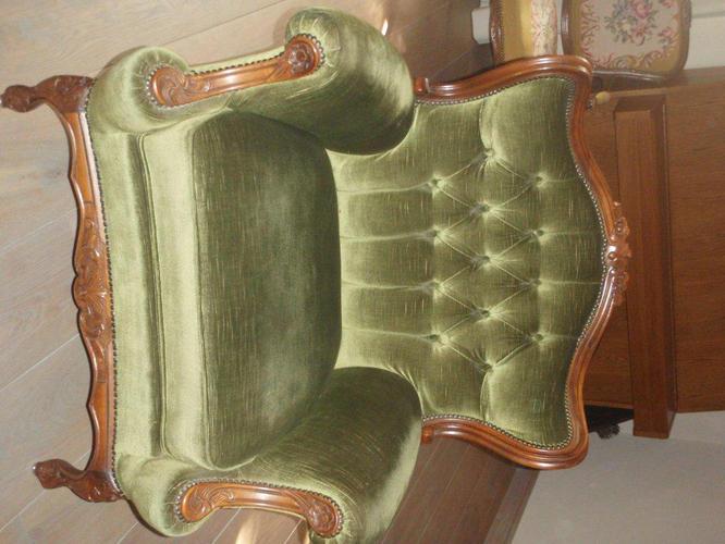 Barok stoel werkspot