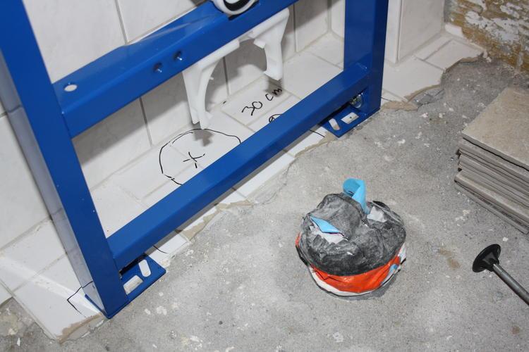 flexibele afvoer badkamer nieuwe standleiding afvoeren