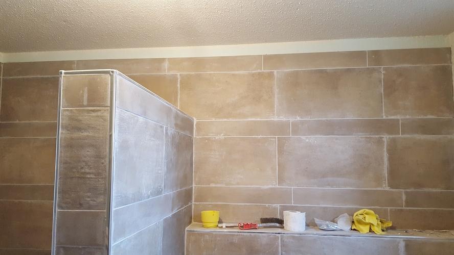 Beton Stucwerk Badkamer : Beton stucwerk badkamer en diversen schilderklaar totaal m