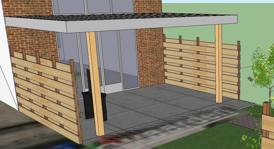 Verwonderend Veranda schilderen (boeidelen en planken plafond) - Werkspot JD-32